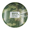 Assiettes motifs Tsahal armee israelienne