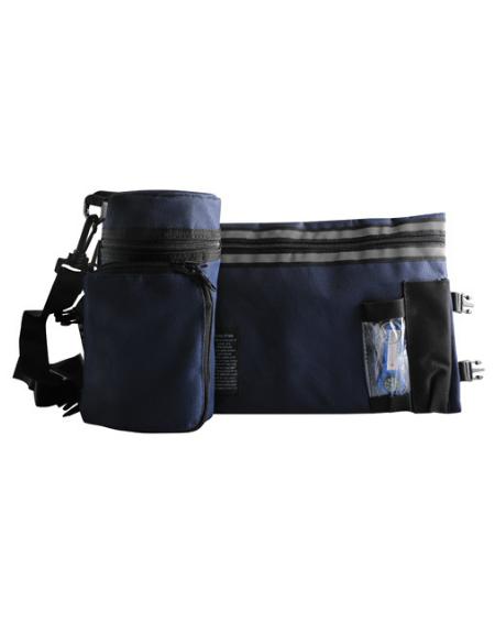Pochette de protection thermique pour Tefilines camouflages bleue