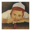 Tableau enfant juif-hanoucca