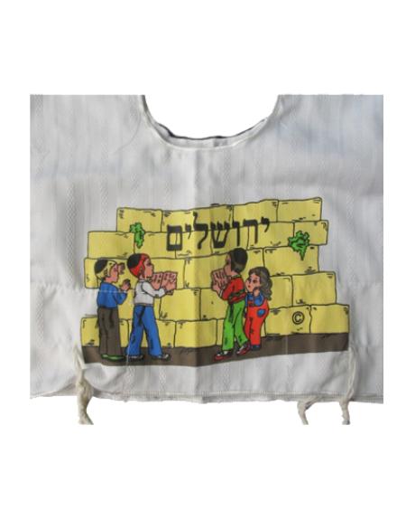 Talith enfant Kotel Jerusalem