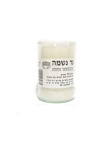Ner nechama- bougie Yahrzeit 72h