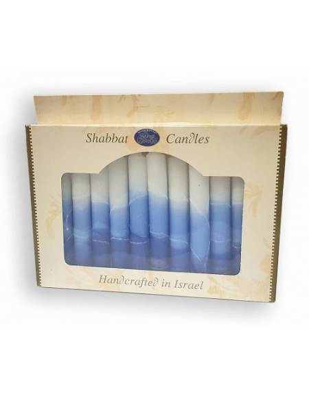 Bougies de Chabbat fabriquées à la main