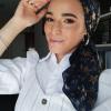 foulard bleu etoile doree